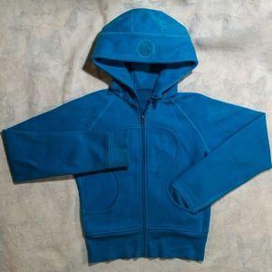 Lululemon Athletica Blue Scuba Hoodie, Thick, Warm